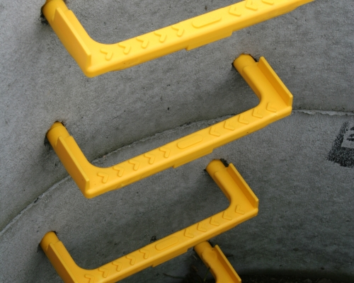Pvc Ladder Rungs : Manhole step irons — caswick